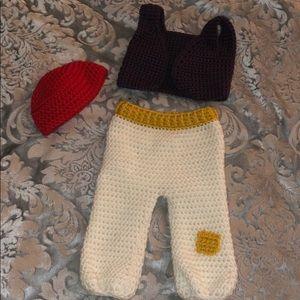 Crochet Aladdin Costume